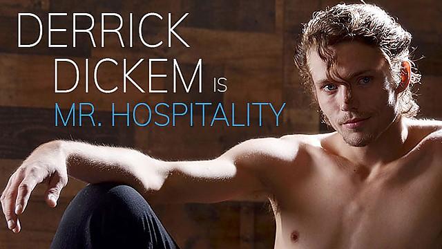 Derrick Dickem is Mr. Hospitality